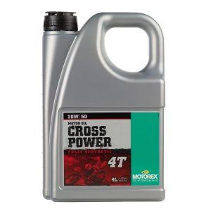 Huile Motorex Cross Power 4 Temps 10W50 4L