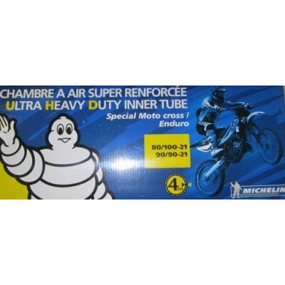 CHAMBRE A AIR MICHELIN ULTRA RENFORCE  90/90-21; 80/100-21